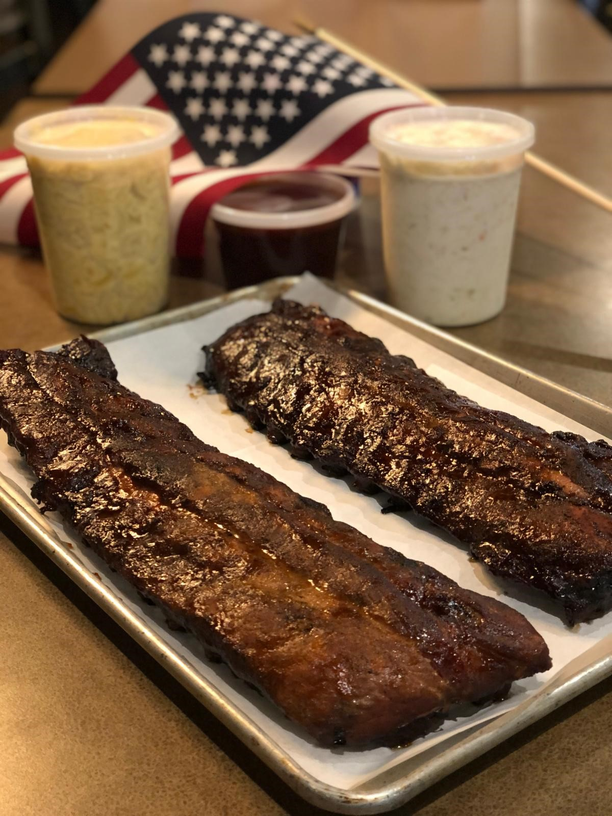 Chuck's Southern Comforts Cafe Memorial Day Ribs Special