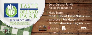Taste of Orland Park weekend event